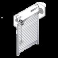 Volet roulant alu recoupable en kit, motoris, filaire ou